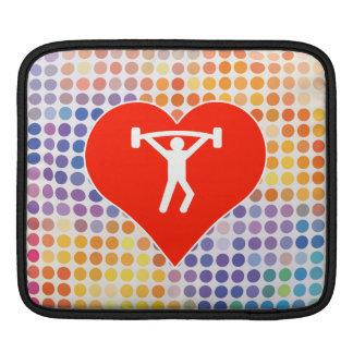 Weight Fan iPad Sleeves