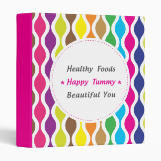 Weight & Health Conscious 3 Ring Binders