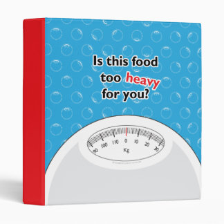 Weight & Health Conscious Binders