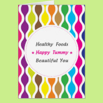 Weight & Health Conscious Card