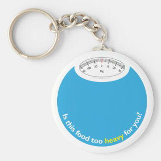 Weight & Health Conscious Keychain