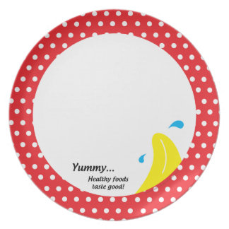 Weight & Health Conscious Melamine Plate