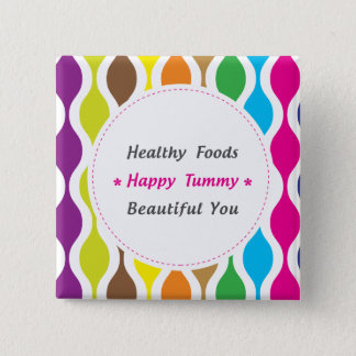 Weight & Health Conscious Pinback Button