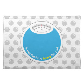 Weight & Health Conscious Placemat