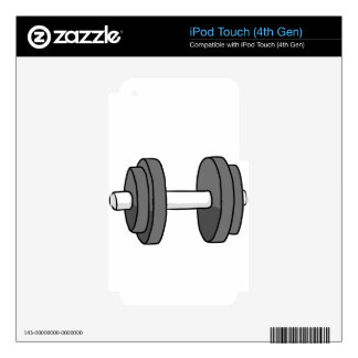 weight iPod touch 4G decal