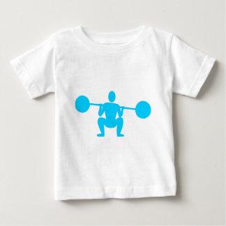 Weight Lifter 01 - Sky Blue Baby T-Shirt