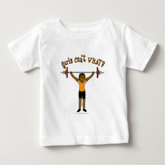 Weight Lifter (Dark) Baby T-Shirt