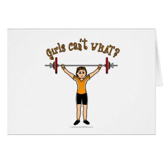 Weight Lifter (Light) Card