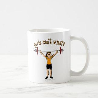Weight Lifter (Light) Coffee Mug