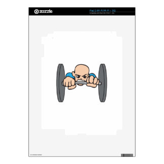 WEIGHT LIFTER iPad 2 DECALS