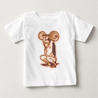 Weight lifter weight more lifter baby T-Shirt