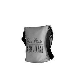 Weight Lifters First Class Weight Lifter Messenger Bag