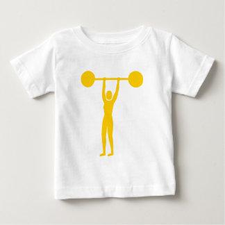 Weight Lifting 02 - Amber Baby T-Shirt