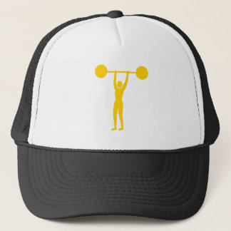 Weight Lifting 02 - Amber Trucker Hat