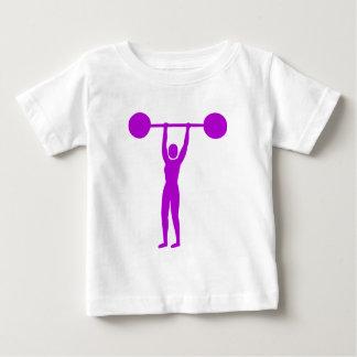 Weight Lifting 02 - Purple Baby T-Shirt