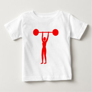 Weight Lifting 02 - Red Baby T-Shirt