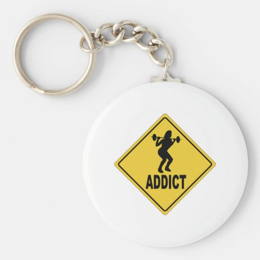 Weight Lifting 2 Keychain