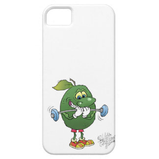 Weight lifting Avocado, on a iphone cover. iPhone SE/5/5s Case