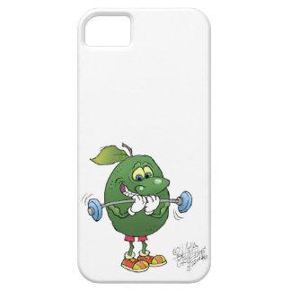 Weight lifting Avocado, on a samsung galaxy nexus. iPhone SE/5/5s Case