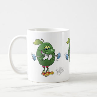 Weight lifting Avocados, on a mug. Coffee Mug
