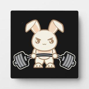 Cartoon Bunny Photo Plaques Zazzle