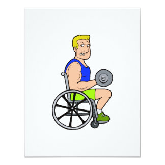 Weight Lifting Card