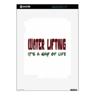 Weight Lifting It's a way of life iPad 2 Decal