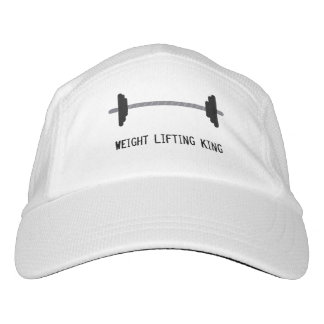 Weight Lifting King Barbell Hat
