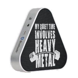 """Weight lifting"" Motivation - Heavy Metal Bluetooth Speaker"
