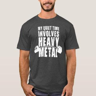 """Weight lifting"" Motivation - Heavy Metal T-Shirt"