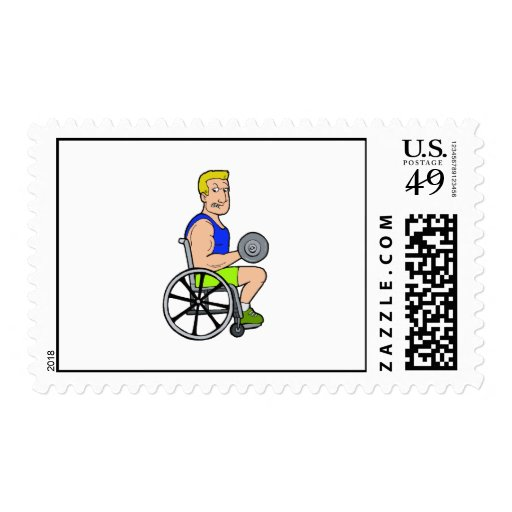 Weight Lifting Postage