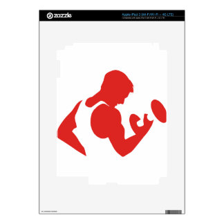 Weight Lifting Skin For iPad 3