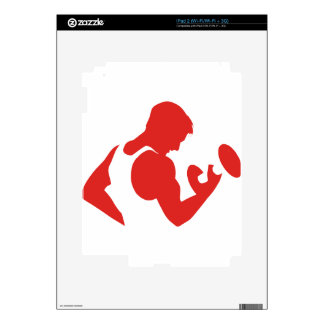 Weight Lifting Skins For iPad 2