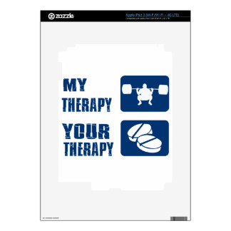WEIGHT LIFTING SPORTS designs iPad 3 Decal