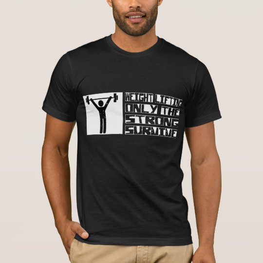 Weight Lifting Survive T-Shirt