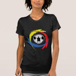 Weight Lifting Tricolor Emblem T-Shirt
