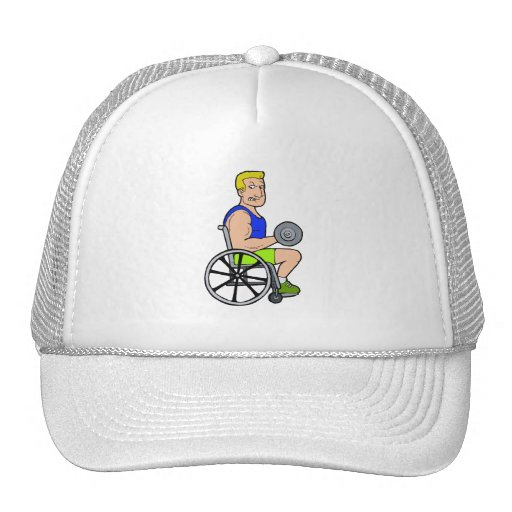 Weight Lifting Trucker Hat