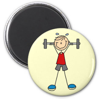 Weight Lifting Tshirts and Gifts 2 Inch Round Magnet