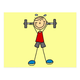 Weight Lifting Tshirts and Gifts Postcard