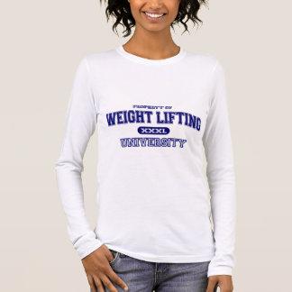 Weight Lifting University Long Sleeve T-Shirt