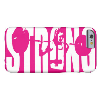 """Weight Lifting"" Women's Motivation -  STRONG Barely There iPhone 6 Case"