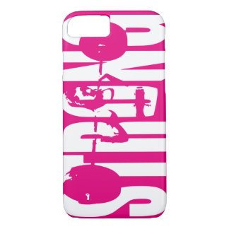 """""""Weight Lifting"""" Women's Motivation - STRONG iPhone 8/7 Case"""