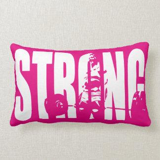 """""""Weight Lifting"""" Women's Motivation -  STRONG Lumbar Pillow"""