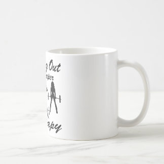 Weight Lifting Working Out Cheaper Than Therapy  3 Coffee Mug