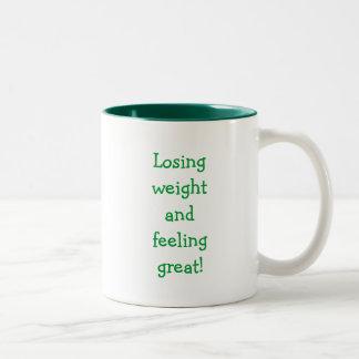 Weight Loss Affirmations Mug