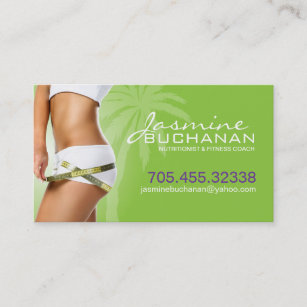 Weight loss business cards templates zazzle weight loss business card template colourmoves