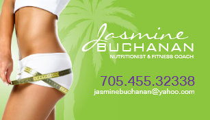 Weight Loss Business Cards Zazzle