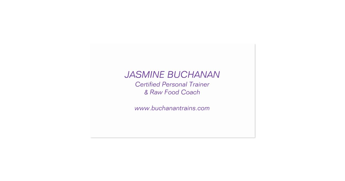 weight loss business card template zazzle