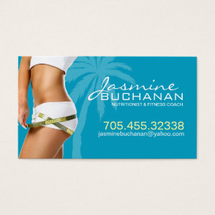 Weight loss business cards templates zazzle weight loss business card template colourmoves Gallery