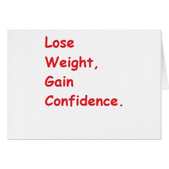 weight loss card